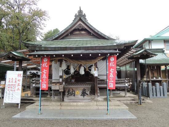 Haritsuna Shrine : 情緒ある本殿