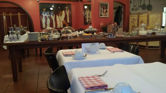 Hotel Seegarten: Desayuno