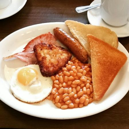Chaplins: The regular size fry up. Yummy