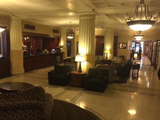 Eldridge Hotel: Reminiscent