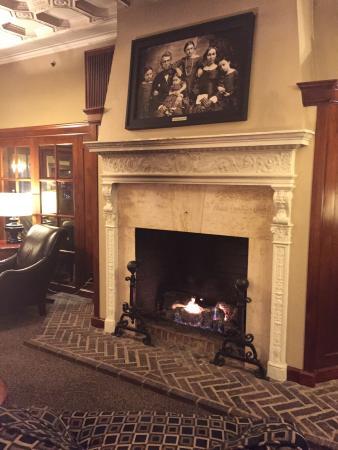 Eldridge Hotel: Fireplace