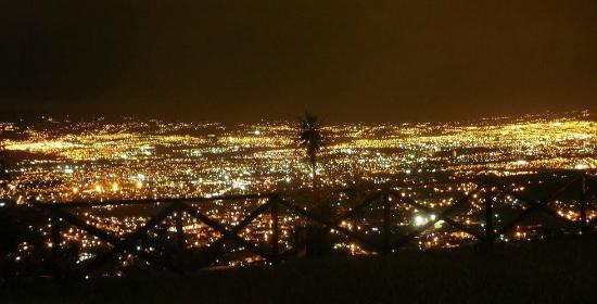 Mirador Tiquicia: Vista desde el Restaurante!