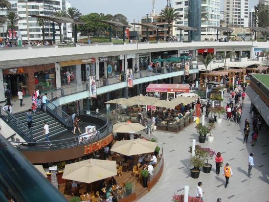 Reas externas picture of shopping center larcomar - Centro comercial moda shoping ...