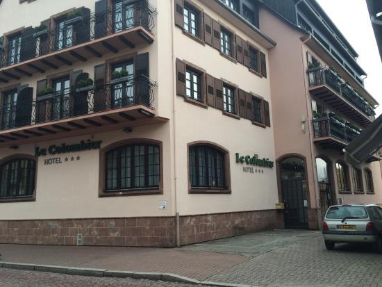 La chambre picture of hotel le colombier obernai for Hotels obernai