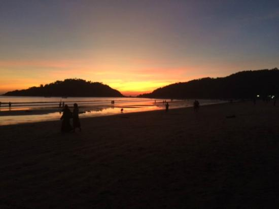 Turtle Hill: Palolem Beach Sunset