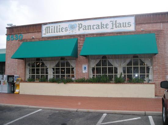 Millie 39 s west pancake haus tucson menu prices for Mt lemmon cabin rentals pet friendly