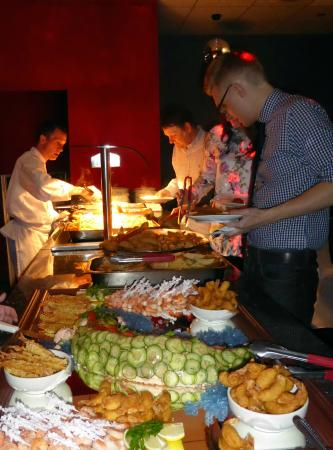 Bolton, UK: One of our Buffets