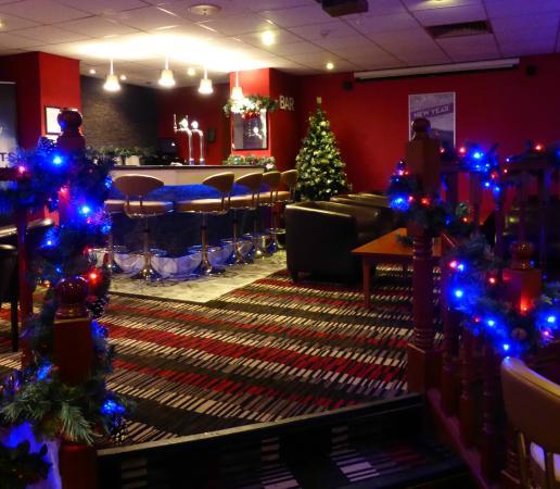 Bolton, UK: Events Room Bar at Christmas