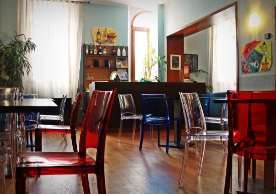 هوتل ماجينتا: Breakfast room