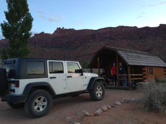 Moab KOA : Our Cabin