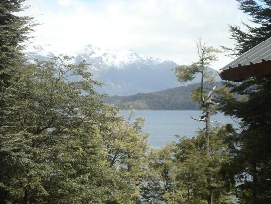 La Torre de la Cascada: Vista desde las cabañas