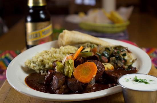 La Cocina de Luz: Colorado Lamb Adovada with side of tortillas.