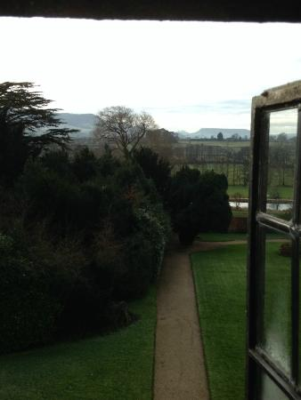 Stonehouse Court: Bedroom view.