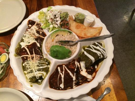 La Palapa: Too good to choose one thing so why not a sampler platter?