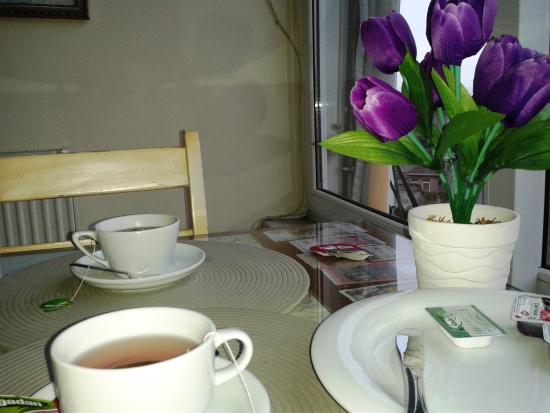 Tulip Guesthouse: ambiente accogliente e bella vista!