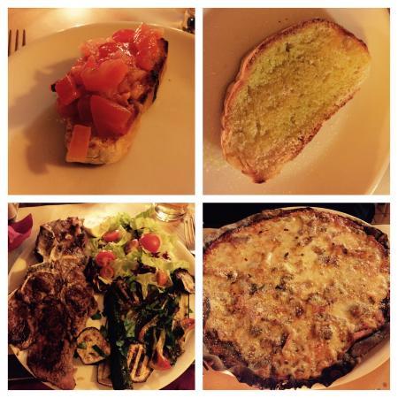 Quei Bravi Ragazzi: Così così... the meat was though and the Pizza a bit blend...