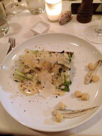 Five Fifty Five: Grilled Caesar Salad