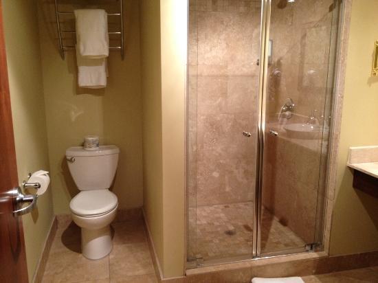 Hotel Brossard: salle de bain