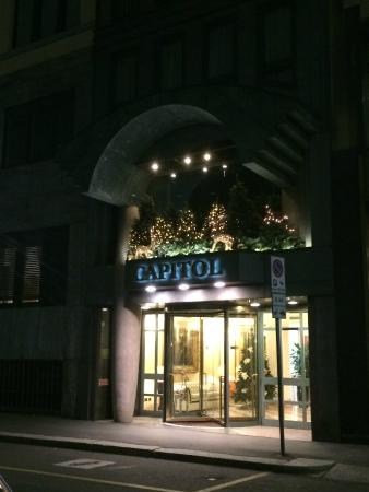 Hotel Capitol Milano: Front of hotel