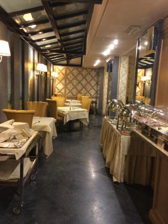 Hotel Capitol Milano: Dining Room
