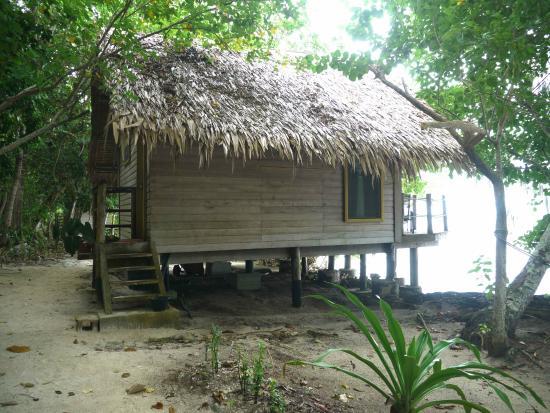 Sanbis Resort : Beach-Bungalow Außenansicht