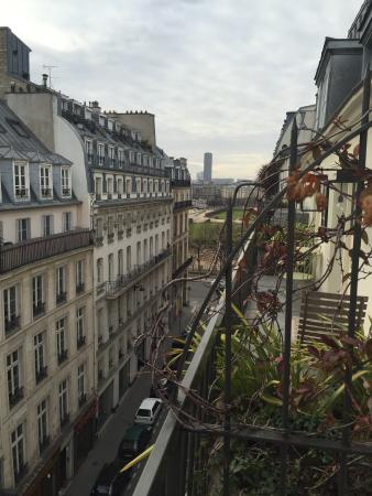 Le Pradey : View of jardin from balcony