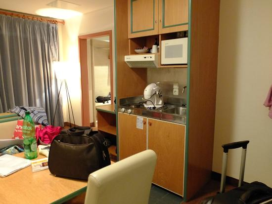 Quality Hotel Augsburg: angolo cottura