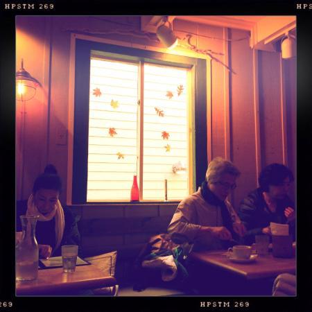 art cafe of nyack: Inside the cafe