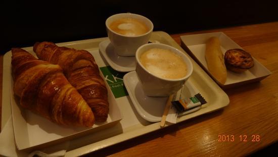 Exki Froissart: Breakfast