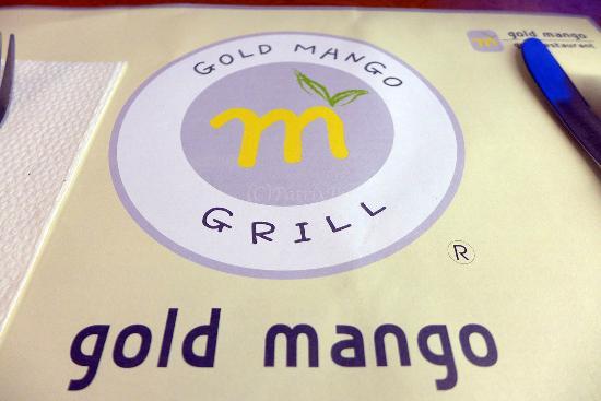 Golden Mango Restaurant: menu
