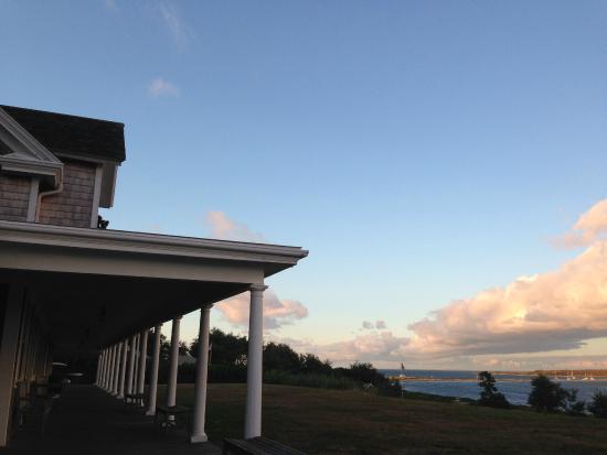 Avalon, The Inn on Cuttyhunk Island: The porch