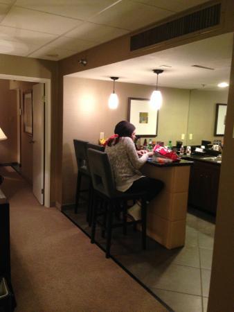 E suite living room picture of eldorado resort casino for Lounge room suites