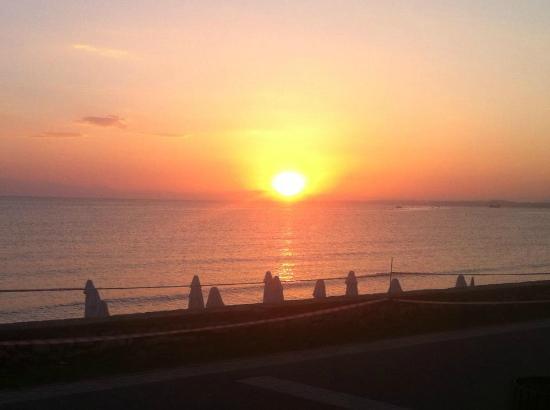 Sunprime Dogan Side Beach: Tatt fra restauranten