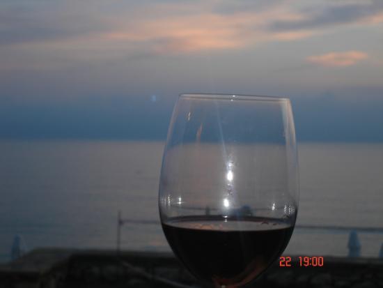 Sunprime Dogan Side Beach: Tatt fra bordet i restauranten