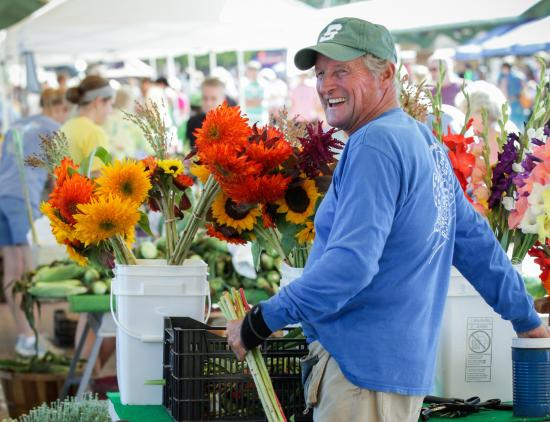 The Holland Farmer's Market runs May-December on Wednesday & Saturday!