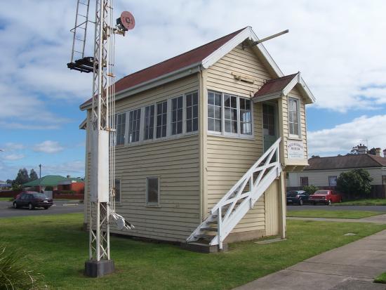 Former railway signalbox