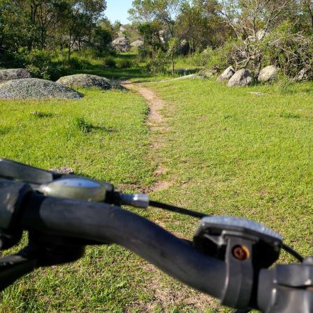 Estancia Finca Piedra: mountain bike in the pampa