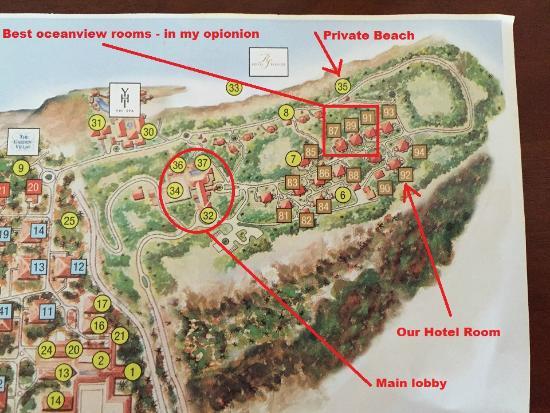Map of Area - Bild von Paradisus Rio de Oro Resort & Spa ...