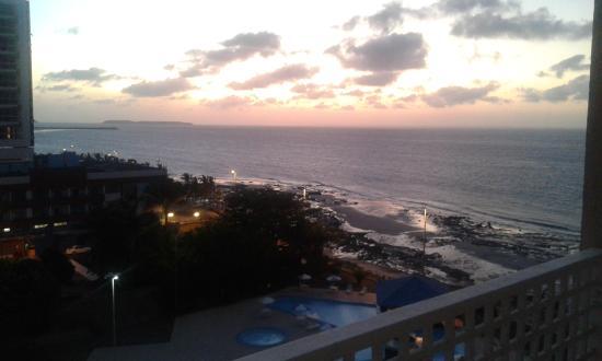 Rio Poty Hotel Sao Luis: Vista da sacada!