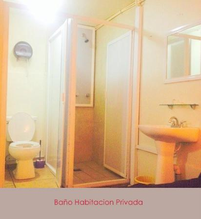 Hostel Lit: Baño de Habitacion Privada