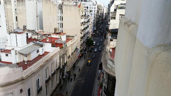 Hotel Comfort Baires: Vista da janela