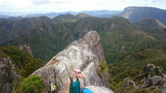 Coromandel Forest Park: On the pinnacles