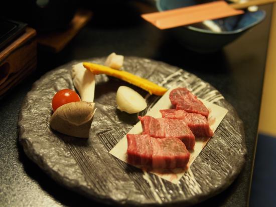 Yuraku Kinosaki Spa & Gardens: 但馬牛