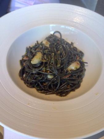 Gold by Harlan Goldstein: Squid ink linguine