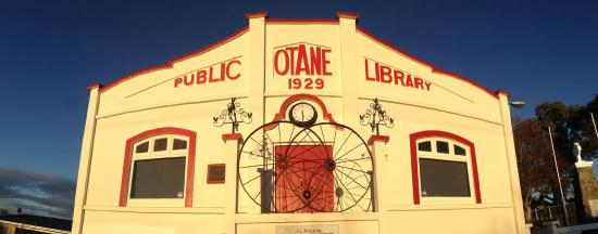 located in the Old Library building in Otane - CHB