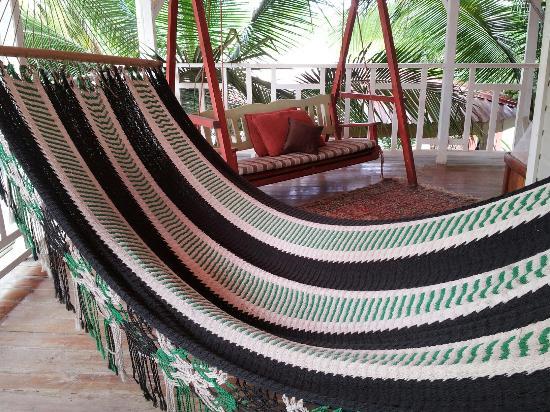 Hotel Boutique Posada Las Iguanas : Hamacas para relajarse