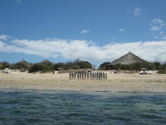 Anakao Ocean Lodge: The welcoming party