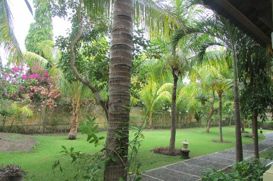 Arya Amed Beach Resort: Beautiful garden