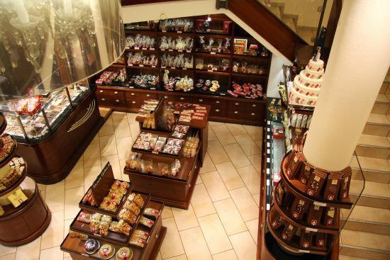 Café Knigge: Вид со второго этажа