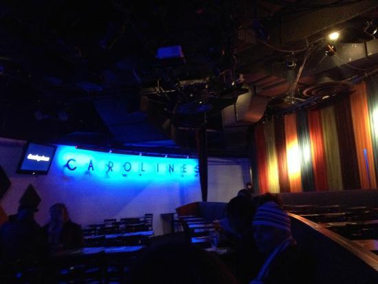 Caroline's Comedy Club: Inside the theatre